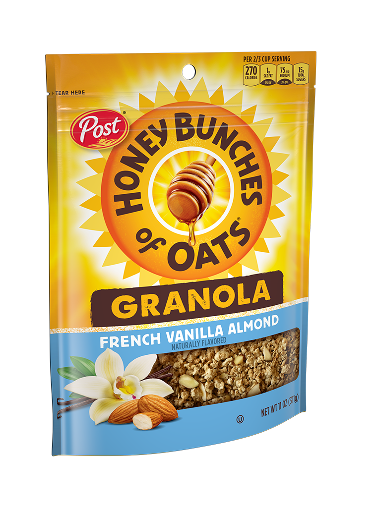 HBO Granola French Vanilla Almond Product Bag