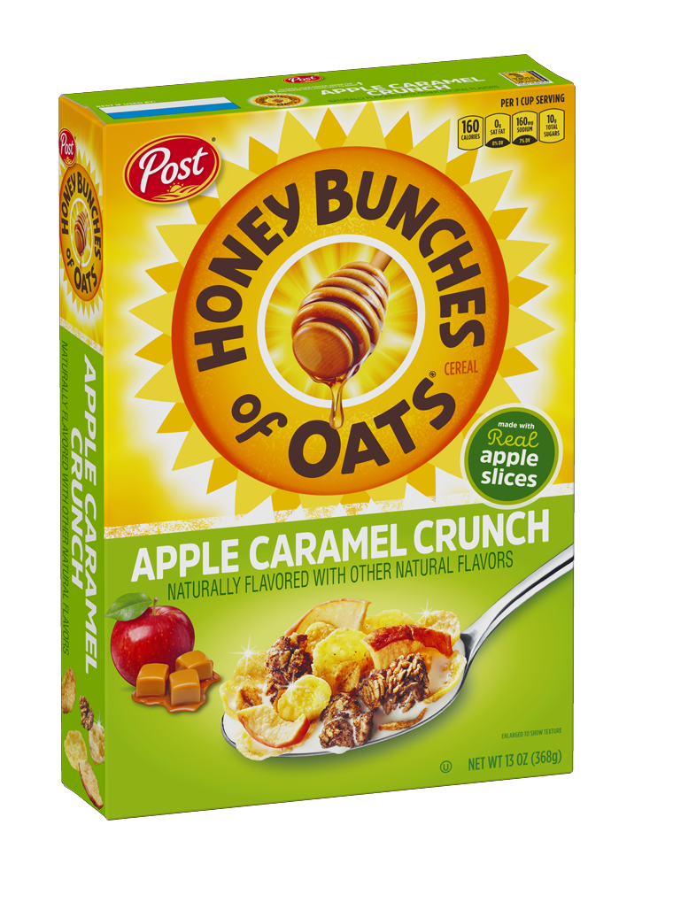HAC-100 RTE HBO Apple Caramel Crunch Product Box